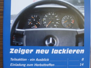 W123 Club Magazin