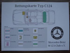 Rettungskarte-c124