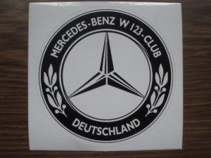 w123-heckscheibenaufkleber
